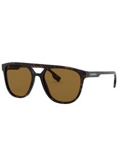 Burberry Men's Polarized Sunglasses, BE4302