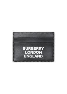Burberry Men's Sandon Logo-Typographic Card Case