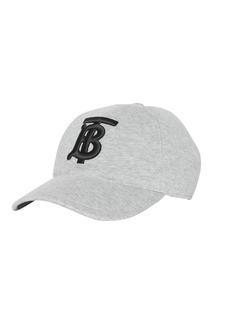 Burberry Men's TB Jersey Baseball Cap  Gray