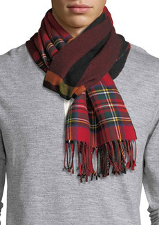 Burberry Men's Vintage Check to Check Scarf