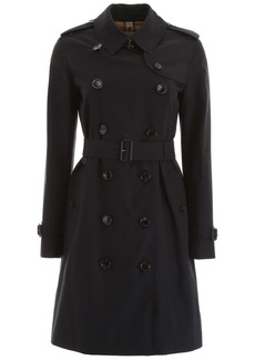 Burberry Midi Kensington Trench Coat