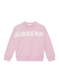 Burberry Mindy Embossed Logo Sweatshirt  Size 6M-2