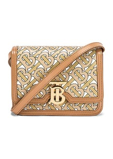 Burberry Mini TB Monogram Crossbody Bag