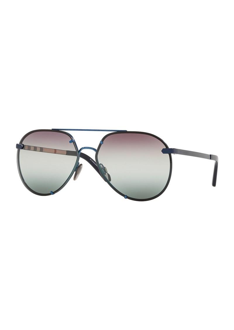1be8bbdf6816 Burberry Burberry Mirrored Metal Aviator Sunglasses | Misc Accessories