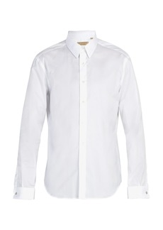 Burberry Modern-fit double-cuff cotton-oxford shirt