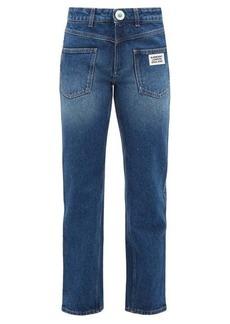 Burberry Monik reconstructed-pocket jeans
