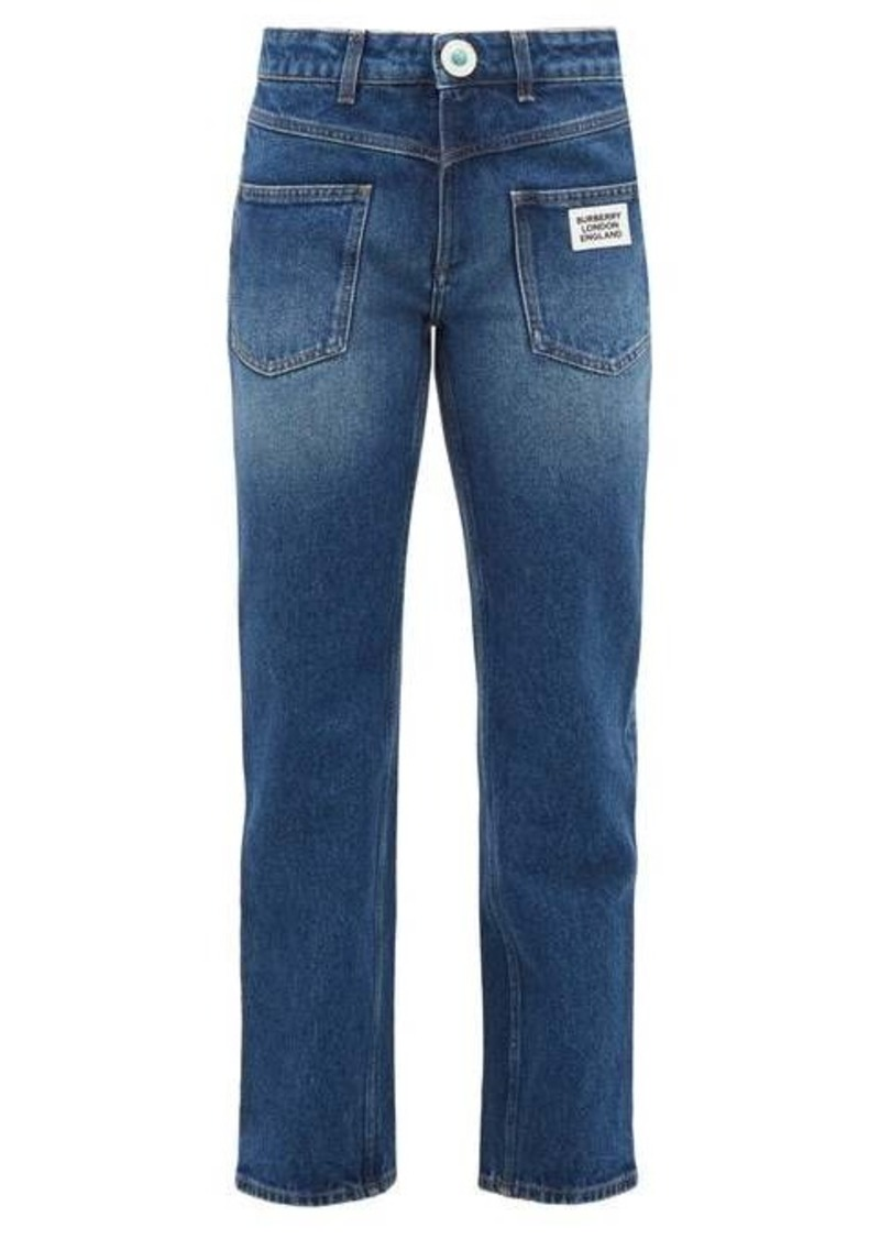 Burberry Monik reconstructed-pocket jeans