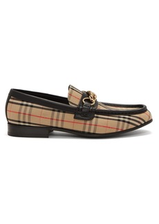 Burberry Moorley House-check loafers