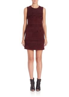 Noelle Suede Fringe Dress