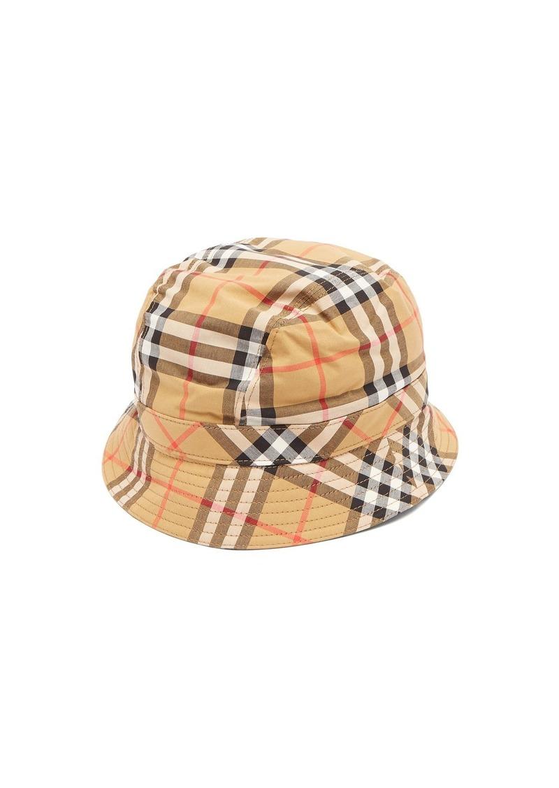 Burberry Burberry Nova Check bucket hat  de00a89042f
