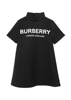 Burberry Ola Neoprene Logo Dress  Size 3-14
