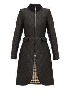 Burberry Ongar Vintage check-lined quilted coat