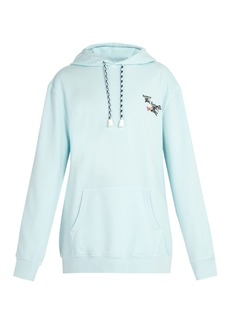 Burberry Oversized hooded sweatshirt