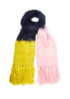 Burberry Oversized mohair-blend scarf