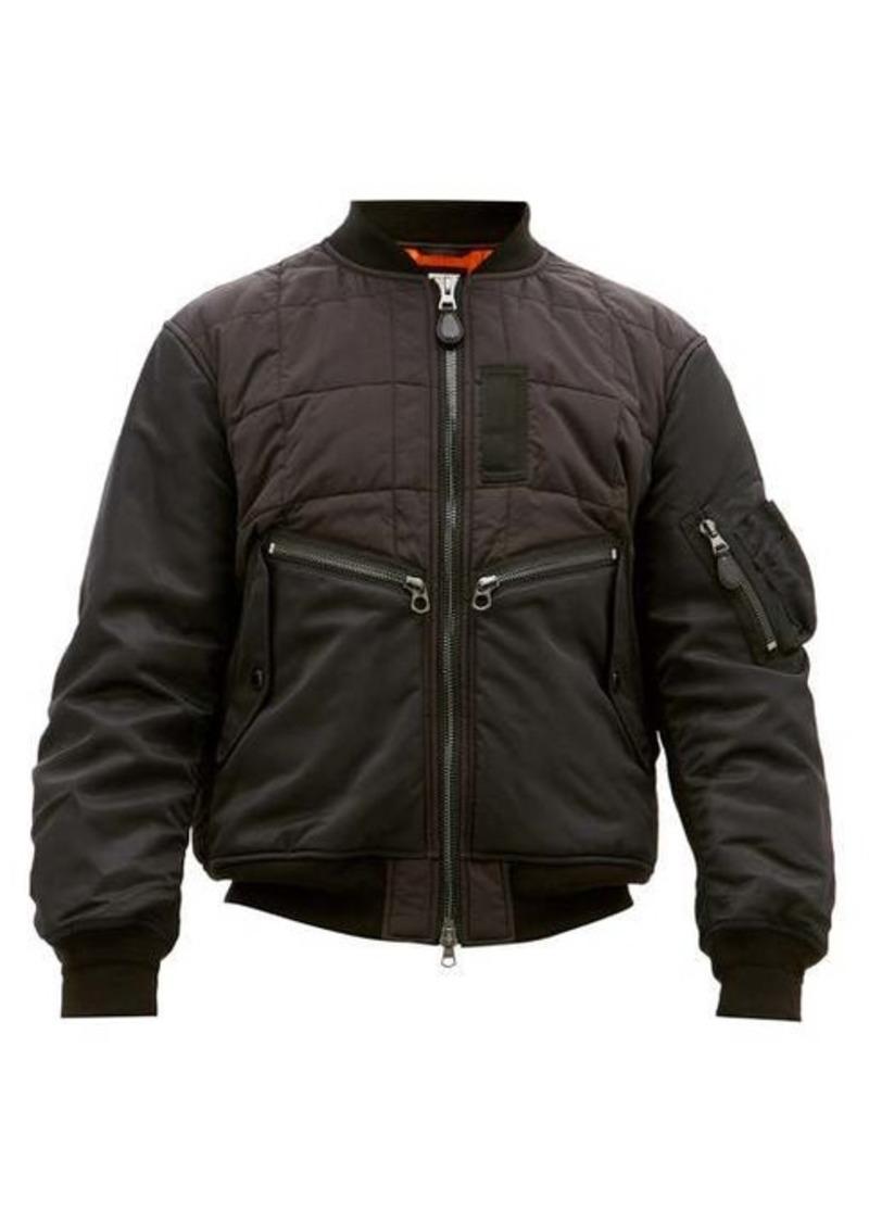 Burberry Padded shell bomber jacket