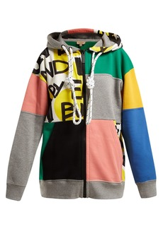 Burberry Pavna graffiti-print hooded sweatshirt