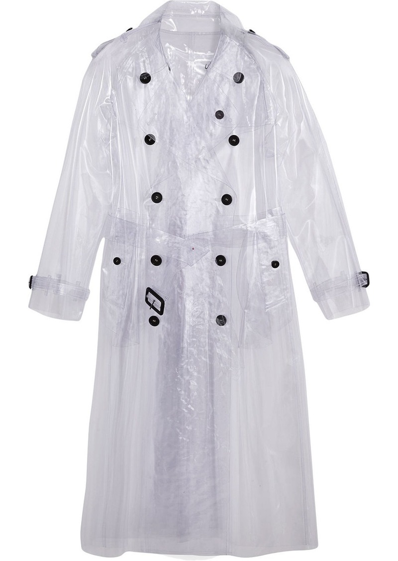 Burberry Plastic Trench Coat