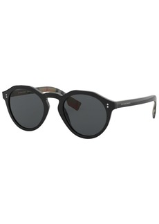 Burberry Polarized Sunglasses, BE4280 50