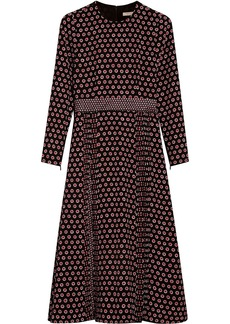 Burberry polka dot dress - Red