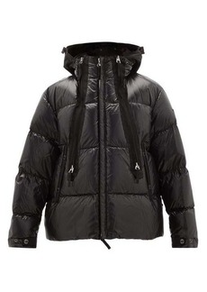 Burberry Quilted-down shell hooded jacket