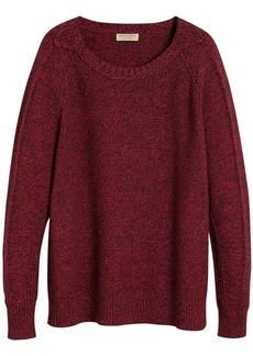 Burberry Melange Wool sweater
