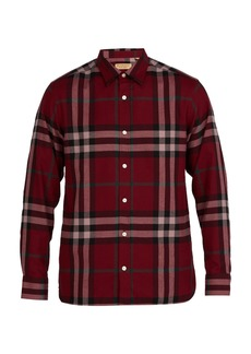 Burberry Richard checked cotton-flannel shirt