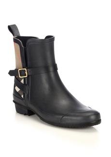 Burberry Riddlestone Short Rain Boots