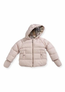 Burberry Rilla Hooded Raglan Puffer Jacket