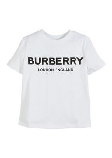 Burberry Robbie Cotton Logo Tee  Size 3-14