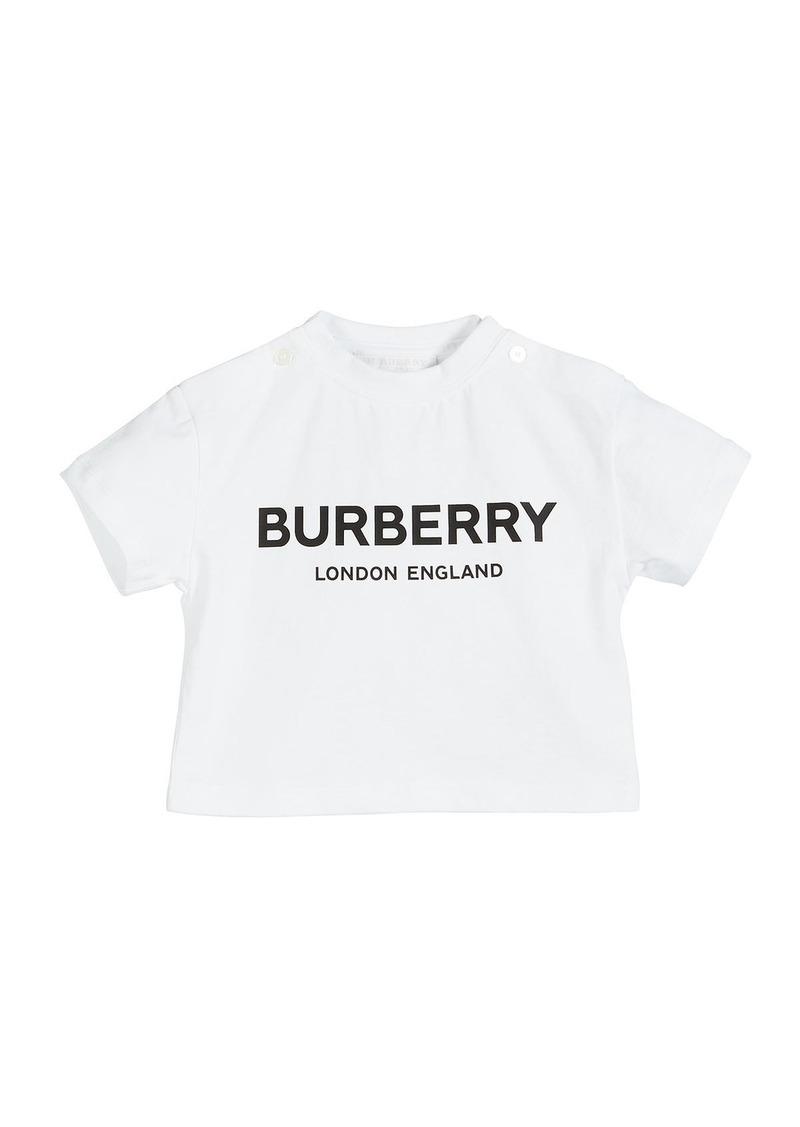 Burberry Robbie Logo Tee  Size 6M-2
