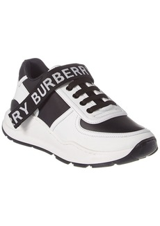 Burberry Ronnie Leather Low Top Sneaker