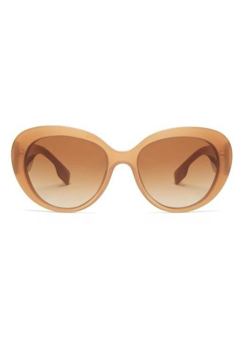 Burberry Round acetate sunglasses