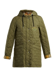 Burberry Roxwell hooded quilted cotton jacket