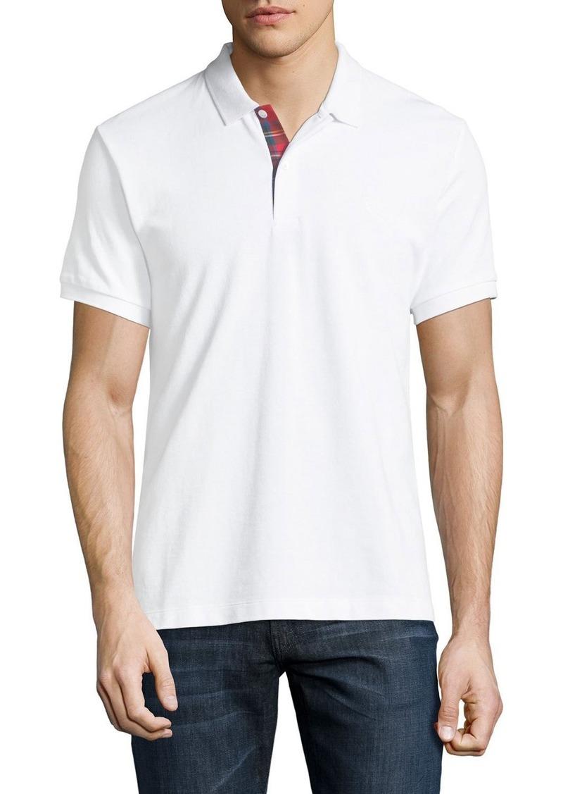 503731028776 Burberry Short-Sleeve Pique Polo Shirt