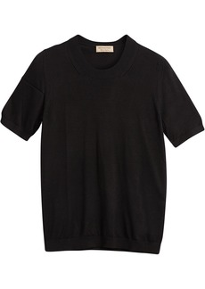 Burberry silk cashmere T-shirt