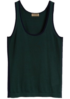 Burberry Silk Cashmere Vest - Green