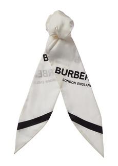 Burberry Silk Hair Scarf
