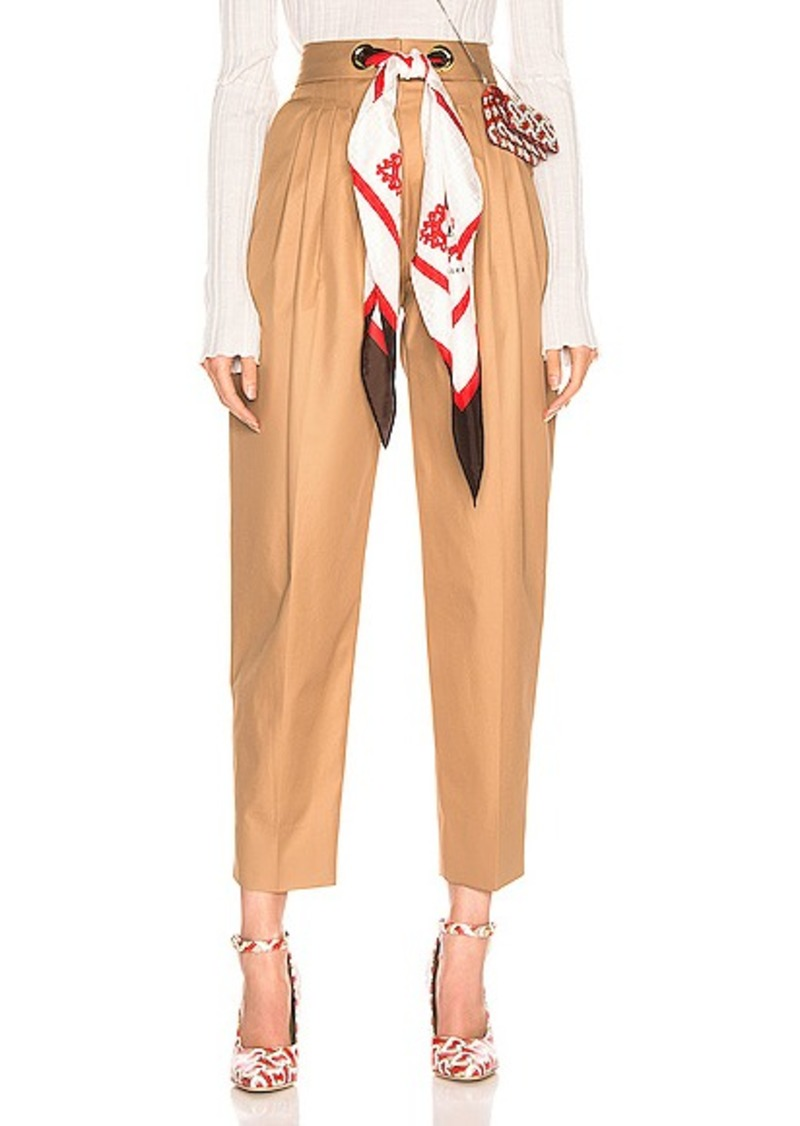 Burberry Silk Scarf Trouser