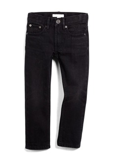 Burberry Skinny Five-Pocket Faded Denim Jeans  Black  Size 4Y-14Y