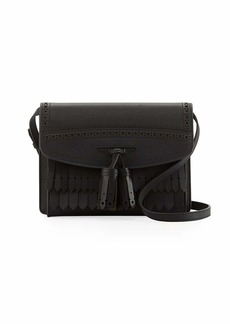 Burberry Small Macken Broguing Tassel Shoulder Bag