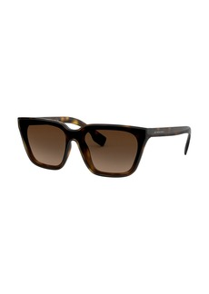 Burberry Square Monochromatic Sunglasses