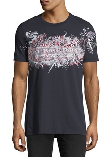Burberry Squiggles Logo-Graphic T-Shirt