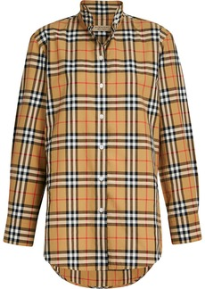 Burberry vintage check shirt - Yellow & Orange
