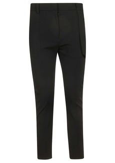 Burberry Strap Detail Trousers