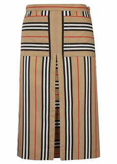 Burberry Striped Skirt