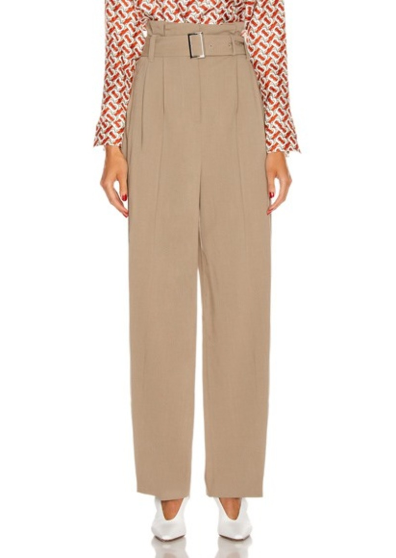 Burberry Swanage Ruffled Waisted Pant