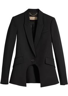 Burberry tailored riding jacket - Black