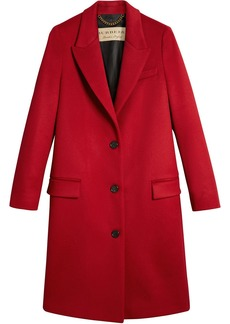 Burberry tailored single breasted coat