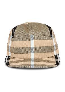 Burberry TB Check Camp Cap