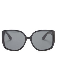 Burberry TB-monogram butterfly acetate sunglasses